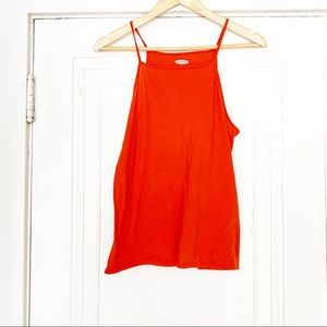 Old Navy Orange Spaghetti Strap Tank